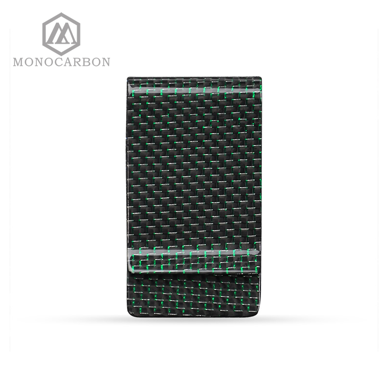 2017 Newest Gifts Metal Crafts Excellent Quality Blank Carbon Fiber Monery <font><b>Clip</b></font>,For Green Money <font><b>Clips</b></font>