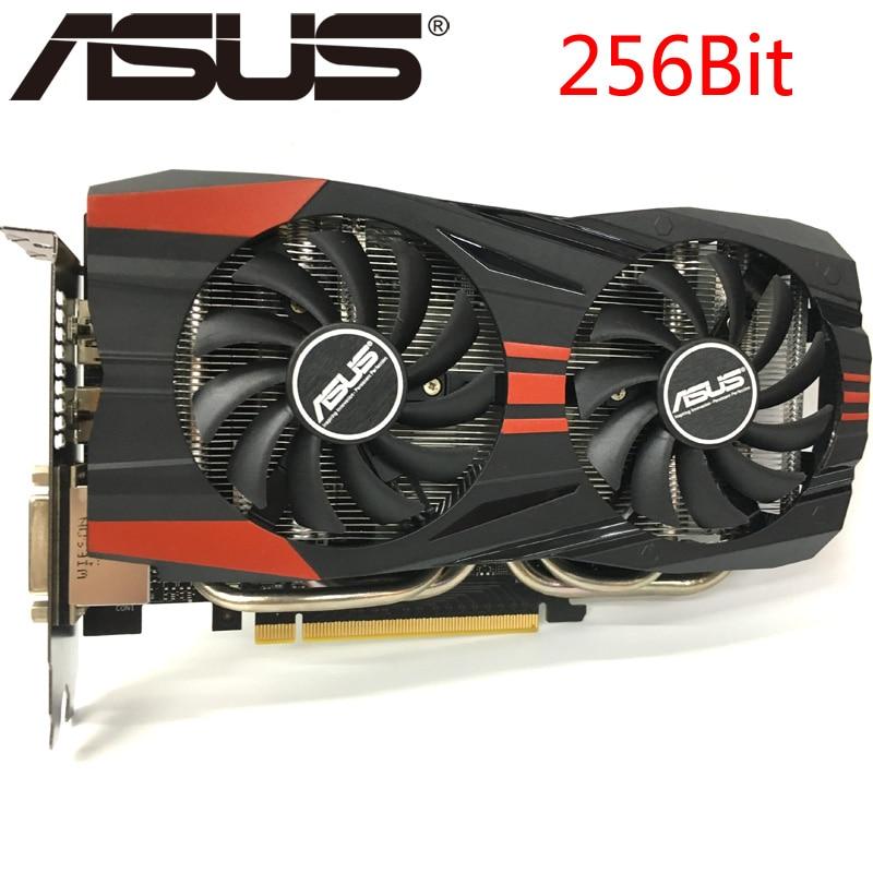 Original Asus Graphics nVidia Graphic Card GTX 760 Video Cards 256Bit Graphics