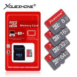 Tarjeta micro sd 8 ГБ 16 ГБ 32 ГБ 64 ГБ карт памяти sd карты 128 ГБ Microsd картао де memoria 4 ГБ micro sd карты флэш-карты + адаптер