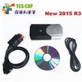 2016 Más Reciente 2015. R1/2014.2 software Para Nueva vci cdp + TCS cdp pro plus con LED cables ESCÁNER para coches/camiones igual mvd
