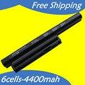 JIGU 6 Клеток Аккумулятор Для Ноутбука SONY VAIO VGP-BPS26 VGP-BPS26A SVE14111 SVE14115 SVE14116 SVE15111 SVE141100C 4400 МАЧ
