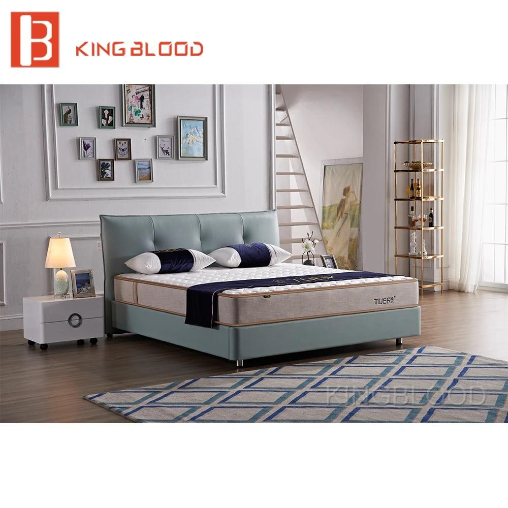 meuble de chambre turc de luxe moderne design lit double plateforme queen size