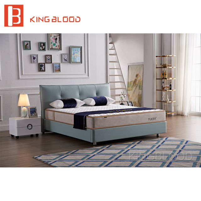 Luxury Turkish Modern Bedroom Furniture Queen Size Platform Double Bed  Designs