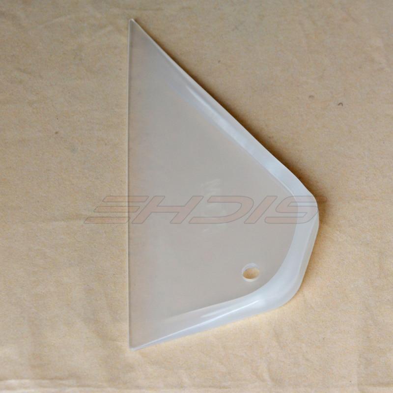 triangle lucid foot squeegee Plastic Car Film Tool Triangle Scraping Applicator Sharp Squeegee Bubble Scraper Contour