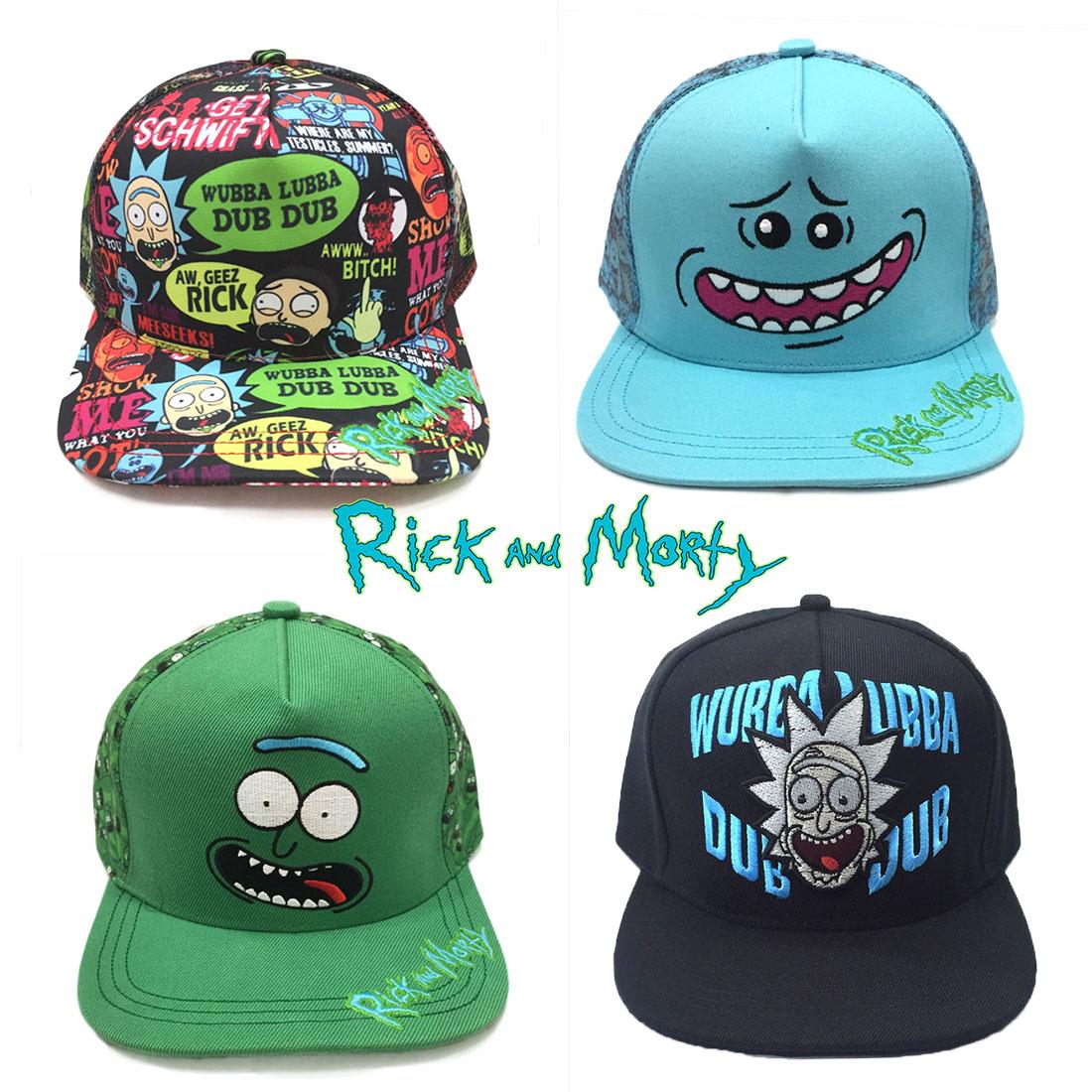 Pickle Rick Costume Hat Rick And Morty Cap Hats 2019  9e1fc18a1f46