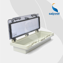 163*95*43mm  IP67 Transparent Contact Protection Window Hood for Distribution Box   (PWH-0412)
