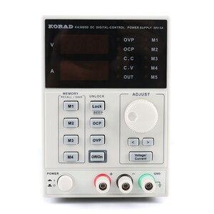 Image 2 - Ka3005d alta precisão programável dc fonte de alimentação ajustável digital fonte de alimentação do laboratório 30v 5a 4ps ma 110v ou 220v