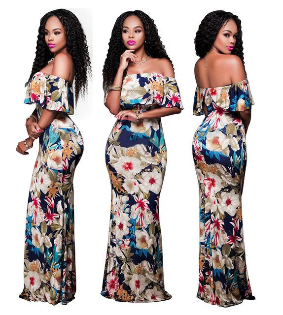Women New Style Dashiki African Design Dress