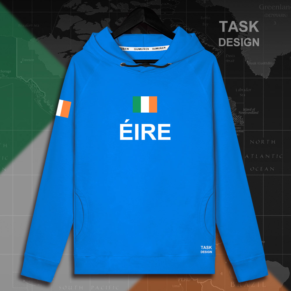 Ireland the Irish Eire IE mens hoodie pullovers hoodies men sweatshirt new streetwear clothing Sportswear tracksuit nation 01