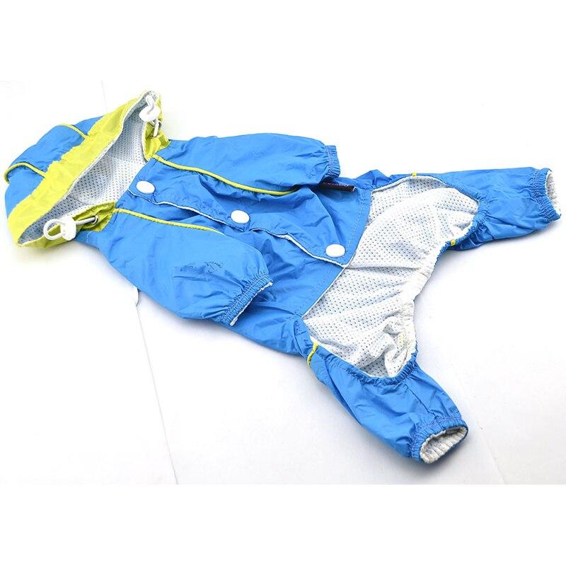 Hiver Chaud de Chien Imperméable Imperméable À Capuche Veste Manteau de Pluie Chien Vêtements Chiot Chihuahua Vêtements de Pluie Slicker Salopette Vêtements