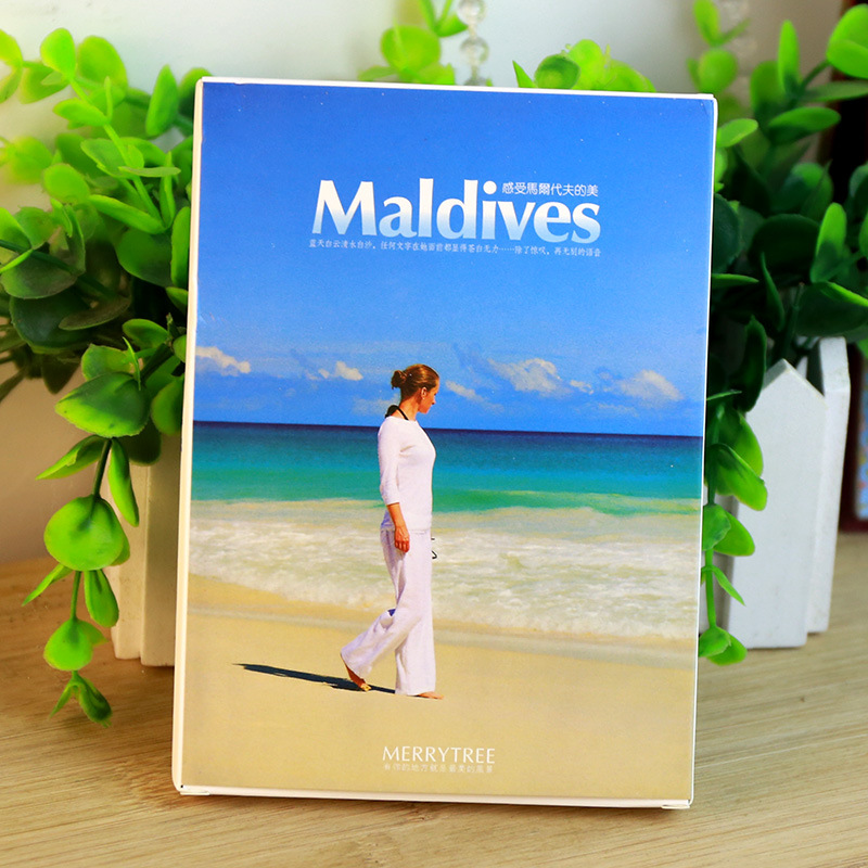 30Sheets/LOT Take A Trip To Maldives Postcard /Greeting Card/wish Card/Fashion Gift