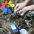 1 pc Caixa de Lavagem Portátil Folhas Fatia Mão Banho Perfumado Viagem Espuma de Sabão De Papel