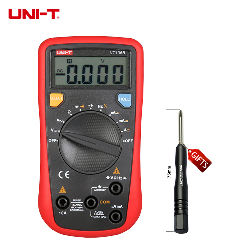 Multimeter For Home : Details about uni t ut b digital multimeter auto range