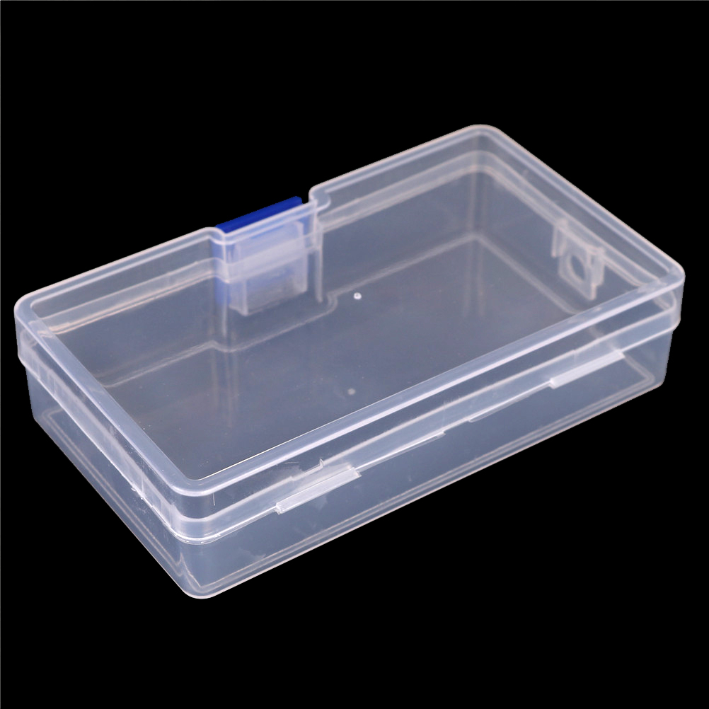 Durable transparente con tapa Mini colección de plástico joyería collar caja recipiente de almacenamiento caja titular organizador artesanal TINTON LIFE Bolsas de almacenamiento Bolsas de conserva de alimentos 12 + 15 + 20 + 25 + 28 cm * 500 cm 5 Rollos/Lot