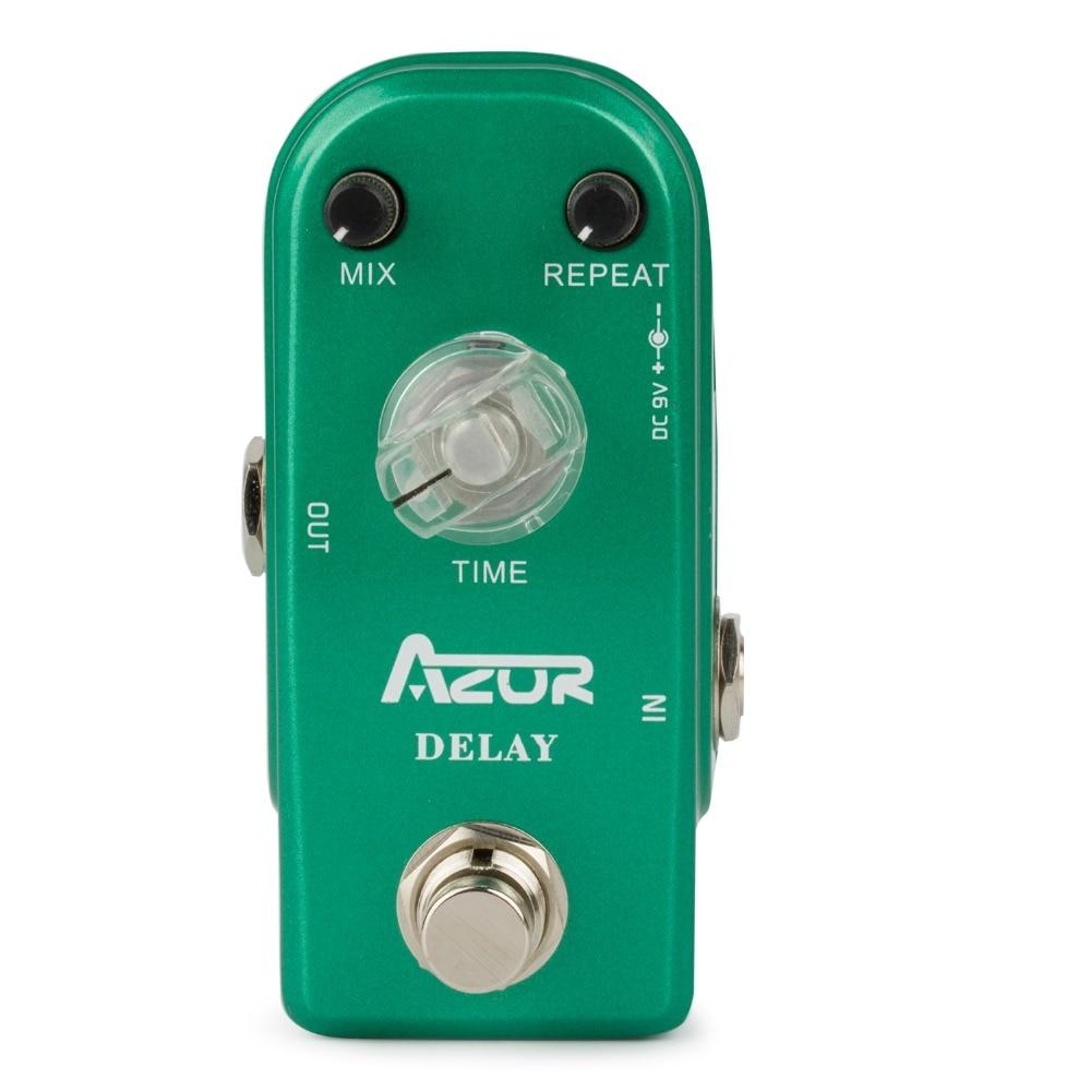 AP-306 Delay Guitar Effect Pedal Mini Size with True Bypass aroma adr 3 dumbler amp simulator guitar effect pedal mini single pedals with true bypass aluminium alloy guitar accessories