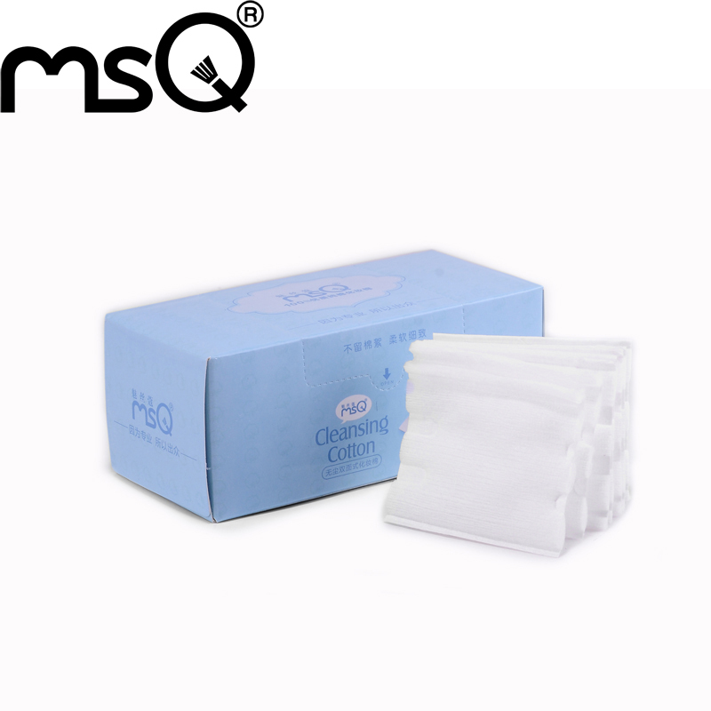 5Set/Lot 50pcs/box MSQ Brand Removable Eyes Facial Blue Soft Cleansing Cotton Cosmetic MakeUp Tool