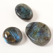 1 шт. Лунный Камень руды Лабрадорит Minera Lstone Natura Lstone орнамент кристалл 3-4 см образец камня