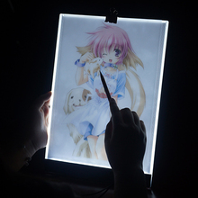 Dimmable Lightpad Diamond Painting Cross Stitch Tools Ultrathin A4 LED USB Light Pad Box Tablet for Drawing Embroidery