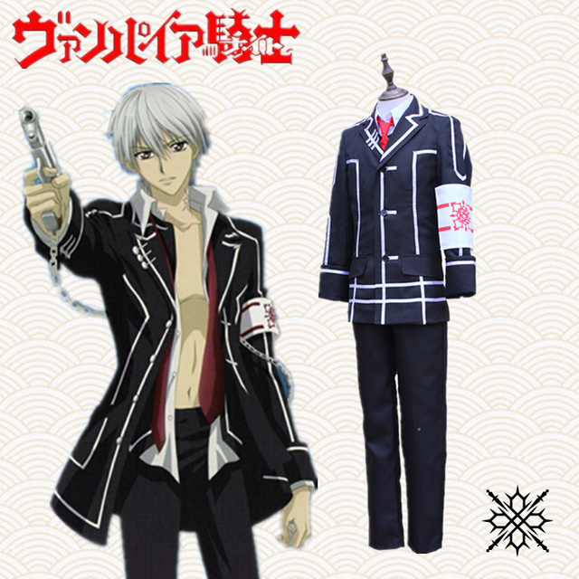Kiryu Zero Cosplay Costumes Black Man Uniforms Japanese Anime