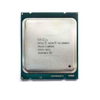 Intel Xeon E5 2680 V2 Processor 2.8GHz 25M LGA 2011 SR1A6 C2 E5-2680 V2 CPU 100% normal work