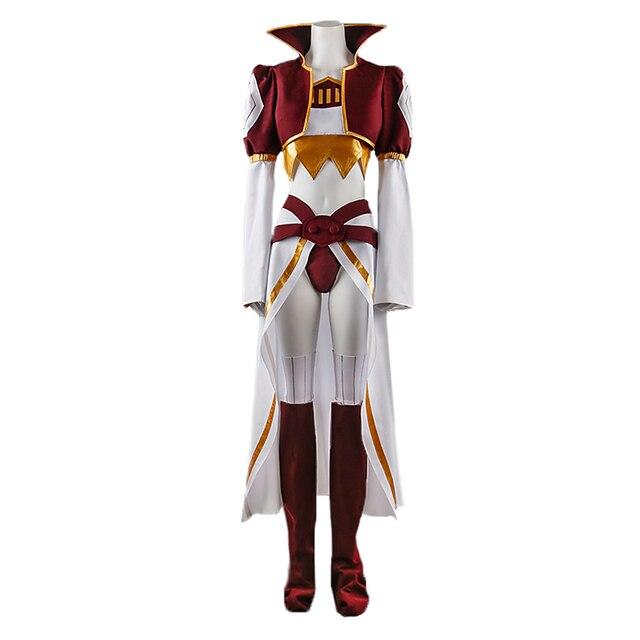 Final Fantasy 9 Kuja Cosplay Costume Uniform Full Set Suit Halloween Carnival Costumes