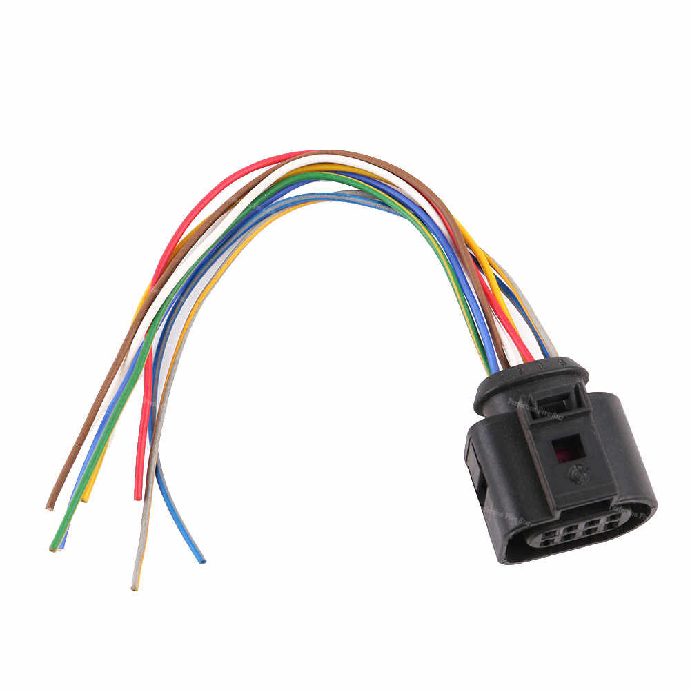 1j0973714 connector auto electric plug harness wire 8 pin for vw golf jetta passat for audi  [ 1000 x 1000 Pixel ]