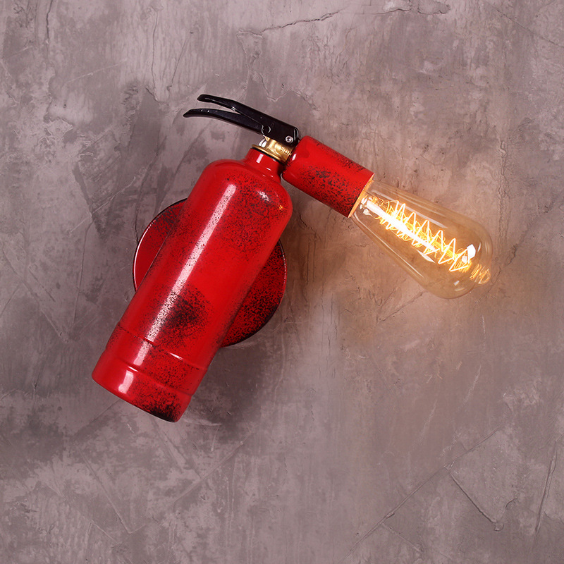Restaurant Wall Light Nordic Fire Extinguisher Simple Led Art Living Room Modern Creative Wall Dining Table Walllight Attractive Fashion Wall Lamps Lamps & Shades
