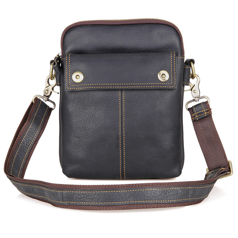 Hot sale New Vintage genuine leather men bags small shoulder bag men messenger bag crossbody leisure bag Flap For men memunia new arrive hot sale genuine