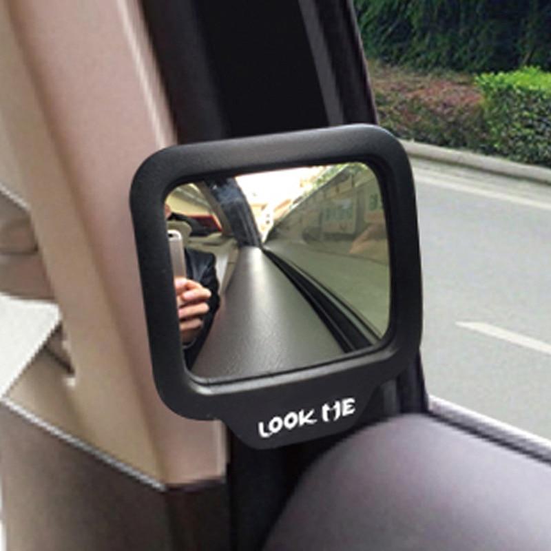 CHIZIYO 270 grados gran angular coche imán trasero espejo retrovisor auxiliar coche eliminar punto ciego para la seguridad del coche