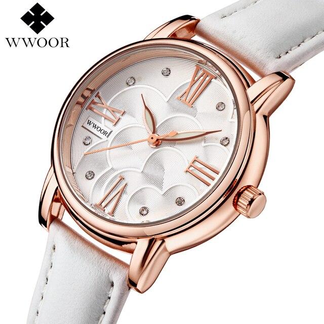 2578e931dc 2016 Nuevas Mujeres Relojes de Primeras Marcas de Moda Reloj de Cuarzo  Vestido de Las Mujeres