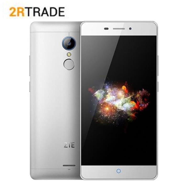 Oirginal ZTE V5 K3DX-V5G 5.5 pouces 3000 mAh 3 GB RAM 32 GB ROM MSM 8952 Octa base Smartphone Nu eye 3D