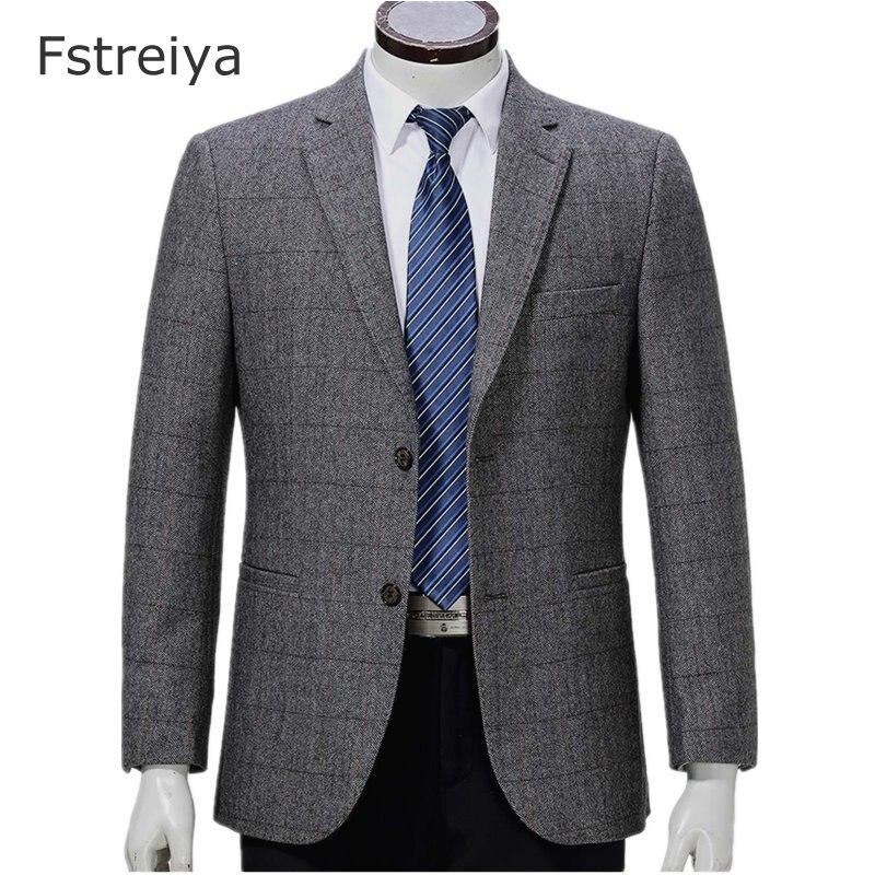 Sur mesure hommes vêtements personnalisés hommes slim fit laine costume gentleman vêtements costume homme tweed costumes avec pantalon gilet 3 pièces