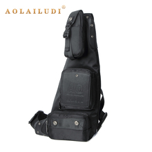 Фотография AOLAILUDI 2017 New Fashion Messenger Bag Men Nylon Multipurpose Chest Pack Sling Shoulder Bags Cross Body Shoulder Chest Bags