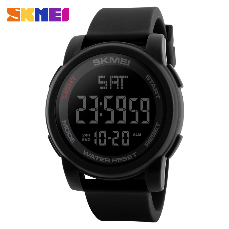 Men's Watches Casual LED Digital Watch Male Wristwatches Waterproof Sport Watches Clock  1257