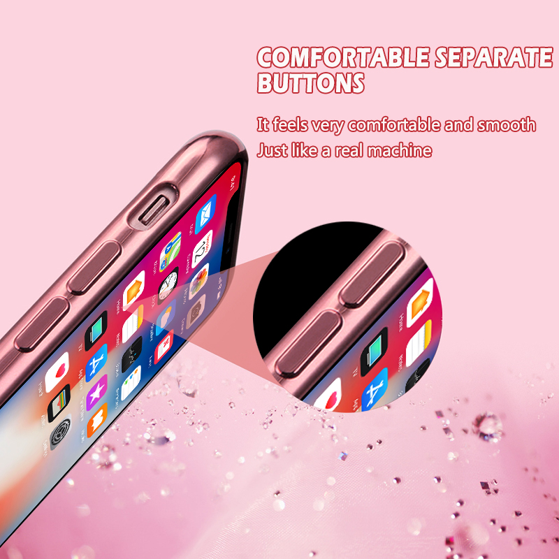 MOESOE Glitter Diamond Flower Case for iPhone 11/11 Pro/11 Pro Max 10