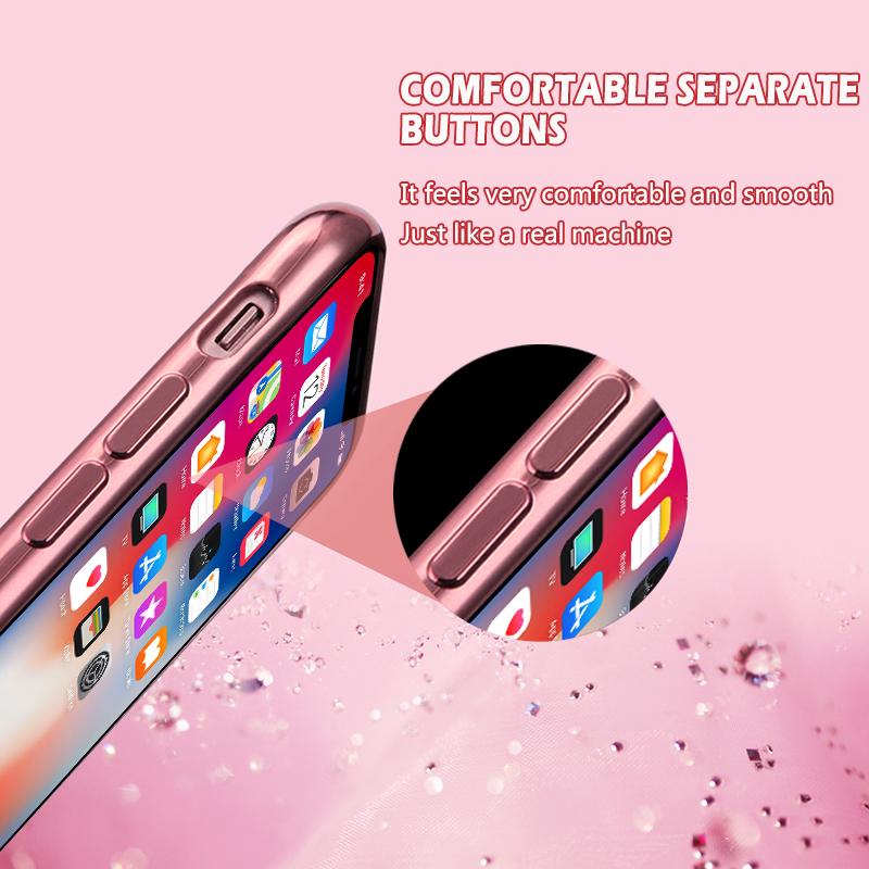 MOESOE Glitter Diamond Flower Case for iPhone 11/11 Pro/11 Pro Max 34