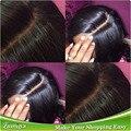 Fechamento Base de seda barato peruano virgem cabelo oriente parte encerramento 4 x 4 Yaki em linha reta humano encerramento cabelo virgem Pervian não transformados
