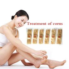 6 sztuk plastry detoksykujące do stóp plastry pielęgnacja stóp plaster medyczny stóp usuwanie kukurydzy kalus Remover kukurydzy zdrowia stóp kukurydzy Patch tanie tanio marisc Foot Corn Remover Foot Pad Patches Relieve Pain