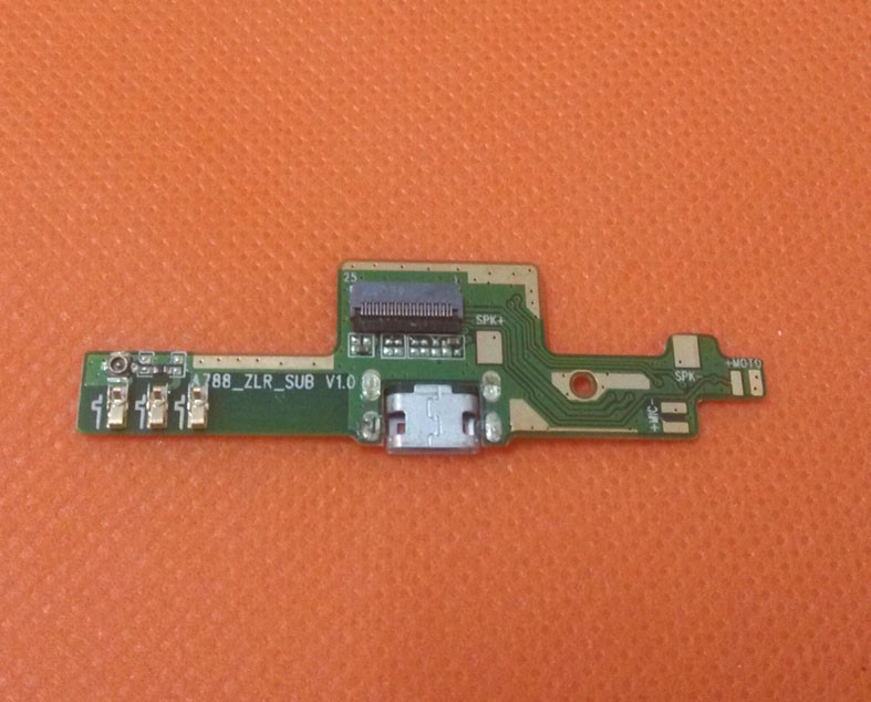Original USB Plug Charge Board For Mijue M680 Android 4.4 KitKat 5.0 IPS QHD MTK6582 Quad Core Free Shipping