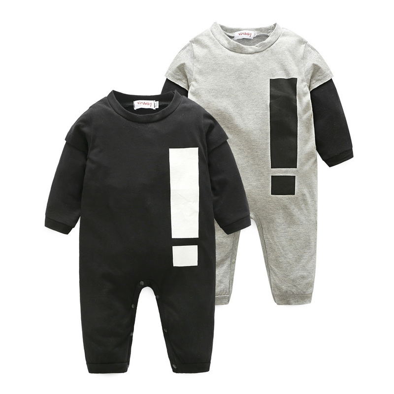 Baby Boy Girl Clothes Long Sleeve Baby Rompers Newborn Jumpsuit Two kinds of style Infant Clothing