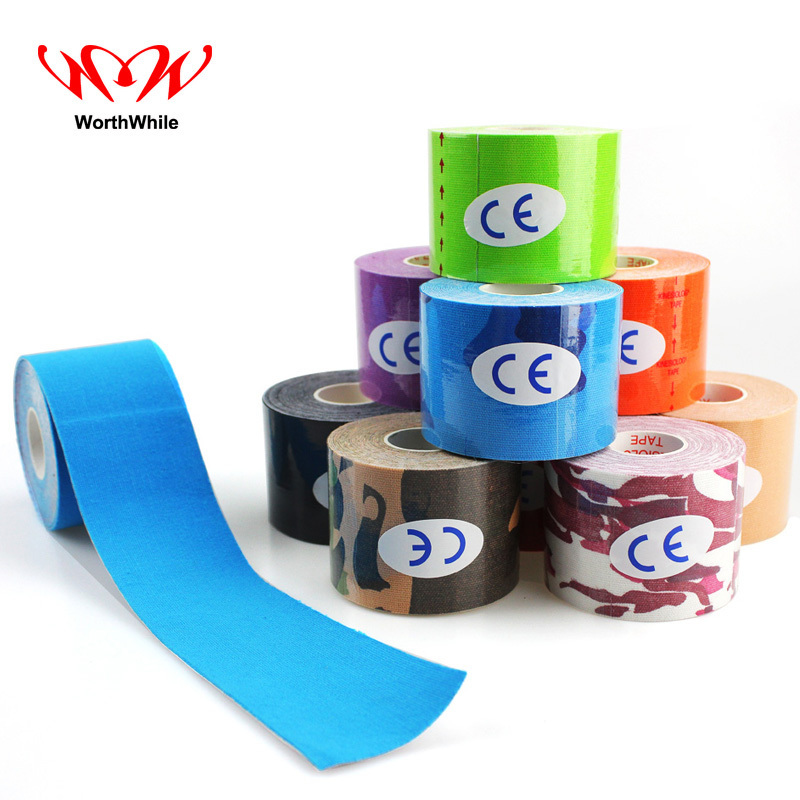 WorthWhile Kinesiology  Safety & Survival Adhesive Bandage Sport Muscle Tape Outdoor Camping Travel Medical Emergency Kit SOS