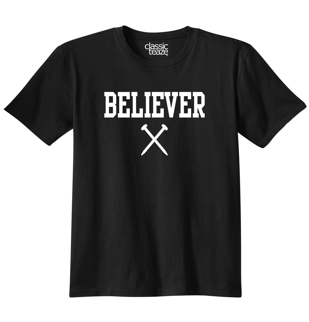 Believer Jesus Christ Christian Shirt Religious Gift Cool T Shirt Free shipping Tops t shirt Fashion Classic Unique gift in T Shirts from Men 39 s Clothing