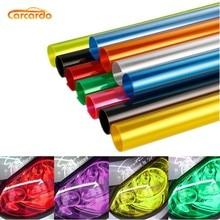 Carcardo Película de vinilo tintado para faros delanteros de coche, pegatinas de vinilo para decoración de coche, 40cm x 200cm