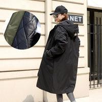 2019 Winter Jackets Cotton Padded Coats Casual Hooded Parkas Women Plus Size Spring Autumn Windbreaker Female Manteau Femme N16