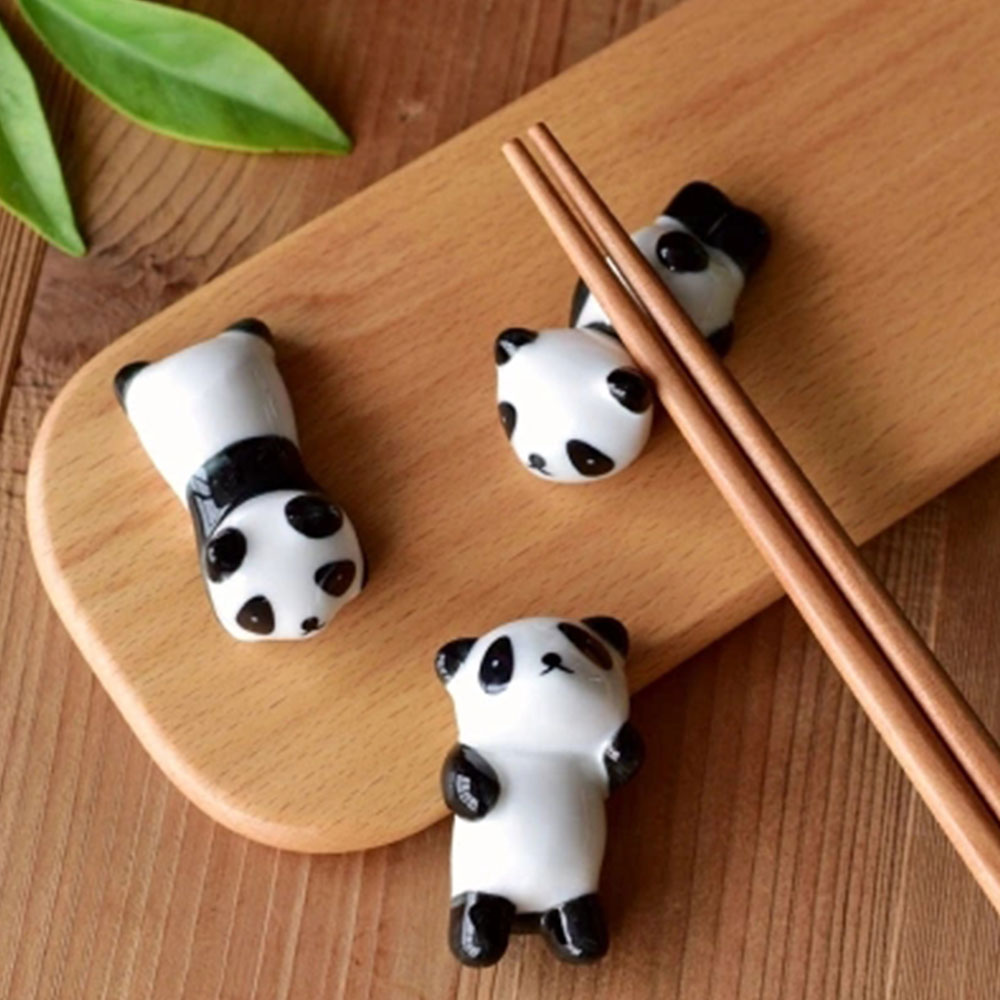 1PC Mini Cute Porcelain Ceramic Vegetable Shap Chopstick Stand Rest Rack Holder