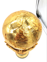 Free Shipping 1 1 36cm World Cup Football Trophy Resin Replica Trophies Model Brazil World Cup