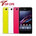 """Sony xperia z1 compact z1 mini gsm desbloqueado originais 3g & 4g android quad-core 2 gb de ram 4.3 """"D5503 20.7MP WIFI 16 GB rom Smartphone"""