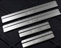 For 2008 2012 VOLVO XC60 Door Sill Scuff Plate 304 Stainless Steel Door Sill Exterior Total