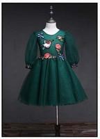 Shining Girls Dress Summer Sleeveless Princess Shining Dress Baby Kids Party Tutu Clothes BC506DS 38 Eleven