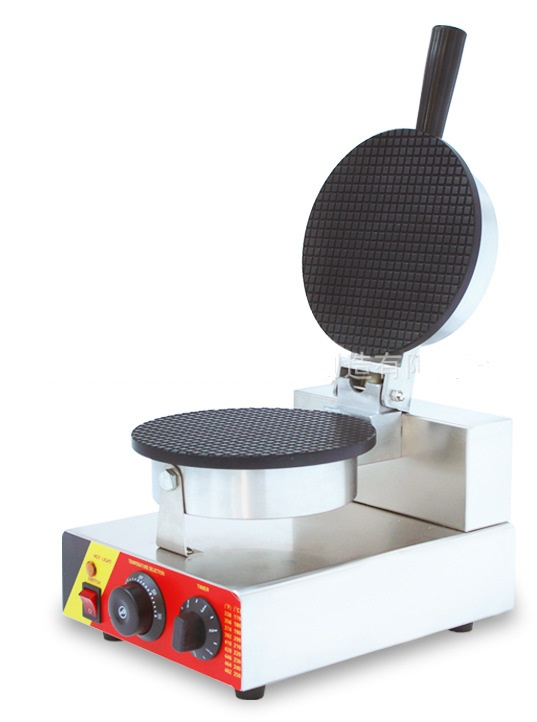 110V 220V  Single head ice cream cone waffle maker machine stainless steel delicious taste crispy pancake waffle maker